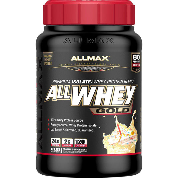 Allmax Nutrition AllWhey Gold Birthday Cake