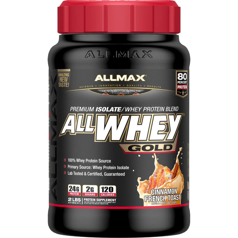 Allmax Nutrition AllWhey Gold 2lb Cinnamon French Toast