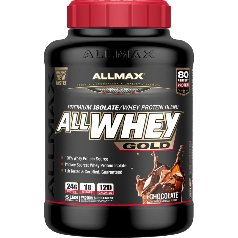 Allmax Nutrition AllWhey Gold 5lb Chocolate