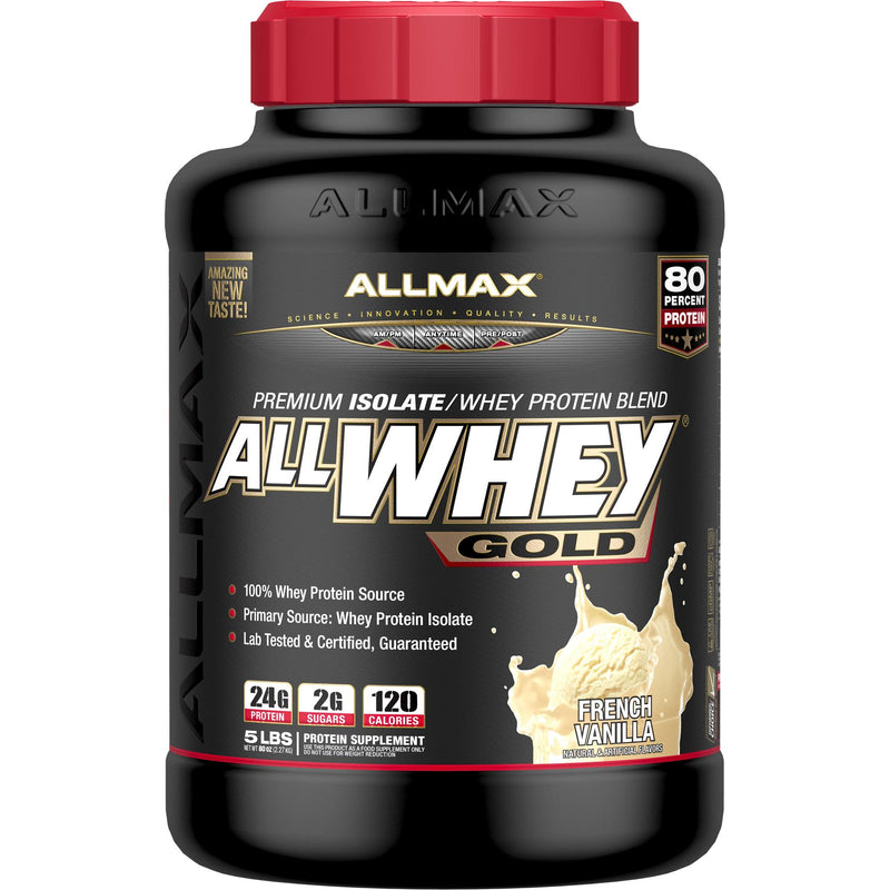 Allmax Nutrition AllWhey Gold 5lb French Vanilla