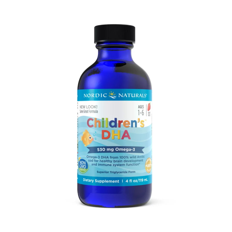 Nordic Natuals Children's DHA 4oz