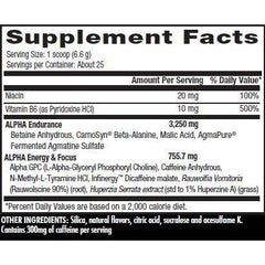 Betancourt Nutrition D-Stunner Alpha 30 Servings