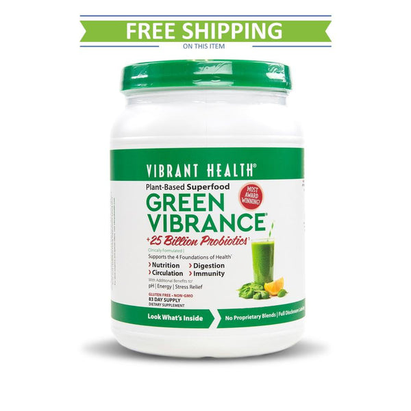 Vibrant Health Green Vibrance 83 servings Version 19.0