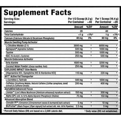 AllMax Nutrition Impact Igniter Pre Workout 20 Servings