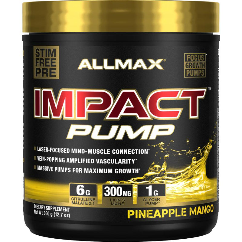 Allmax Nutrition Impact Pump Pineapple Mango