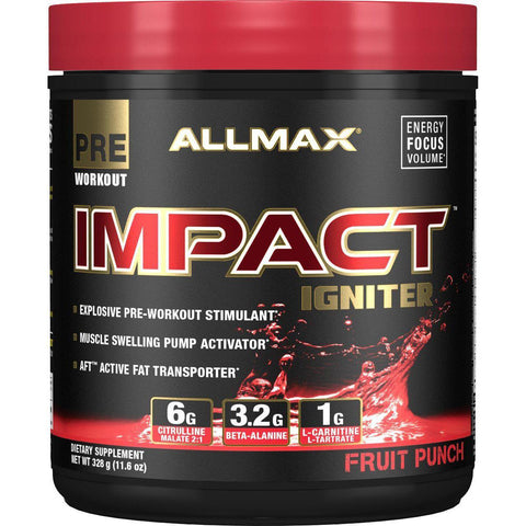 AllMax Nutrition Impact Igniter Fruit Punch