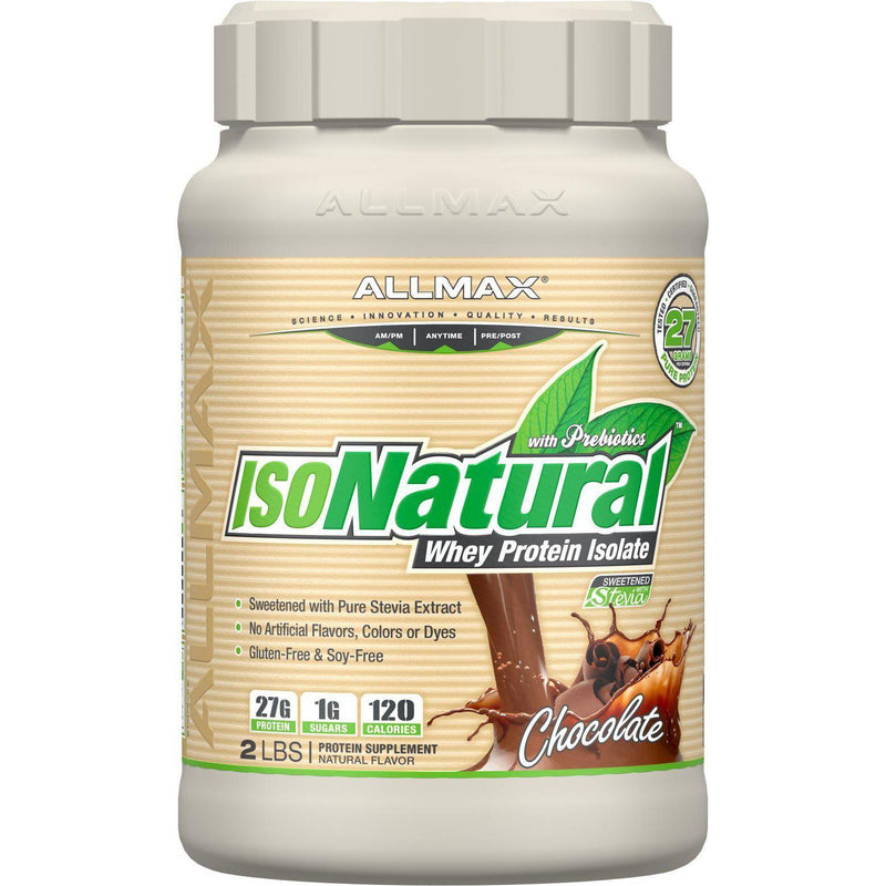 Allmax Nutrition IsoNatural 2lb Chocolate