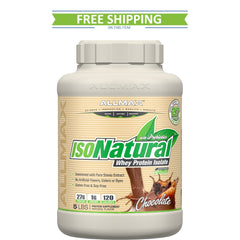 Allmax Nutrition IsoNatural 5lb Free Shipping