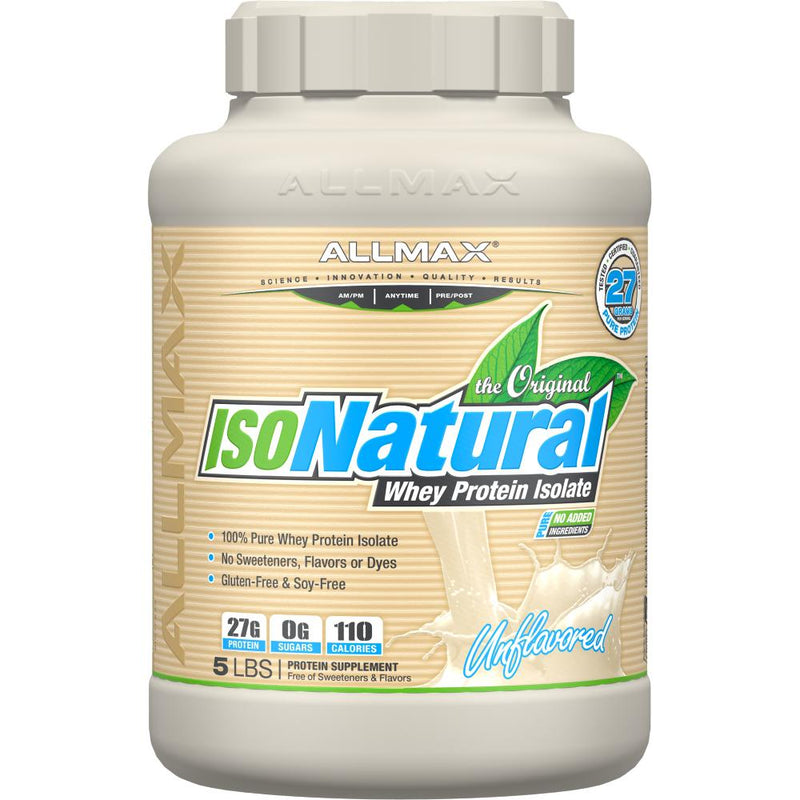 Allmax Nutrition IsoNatural 5lb Unflavored