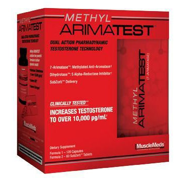 Muscle Meds Methyl Arimatest 120C + Sub Zero 60T