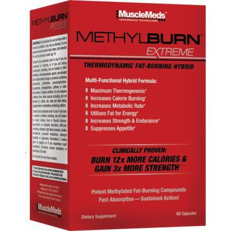 Muscle Meds MethylBurn Extreme 60C