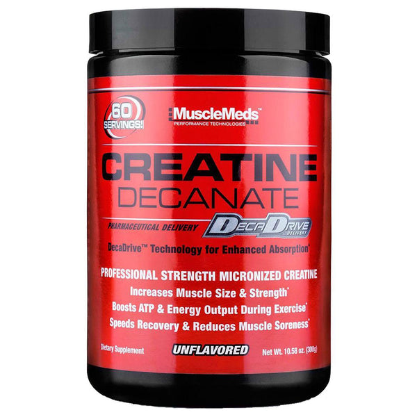 Muscle Meds Creatine Decanate Unflavored 10oz