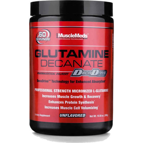 Muscle Meds Glutamine Decanate Unflavored 10oz