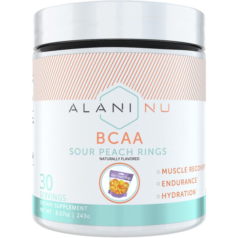Alani Nutriton BCAA 30 Servings Sour Peach Rings