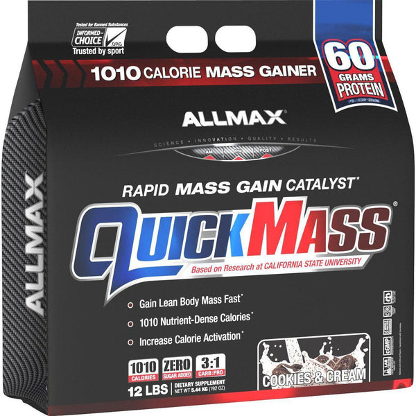 Allmax Nutrition QuickMass 12lb Cookies & Cream