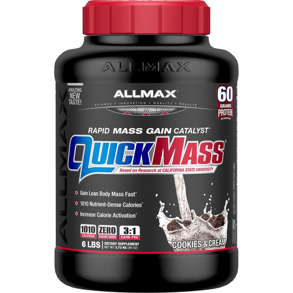 Allmax Nutrition QuickMass 6lb Cookies & Cream