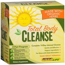 Renew Life total Body Cleanse (3 Part Kit)