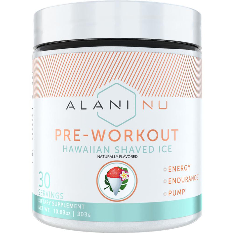 Alani Nutrition Pre Workout 30 Servings Hawaiian Shaved Ice