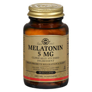 Solgar Melatonin 5mg 60 Nuggets