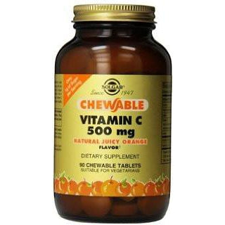 Solgar Vitamin C 500mg 90 Chewable Tablets