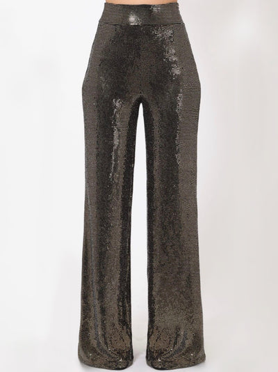 Alexa Copper Pants Bottoms
