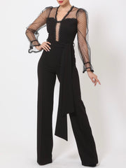 Juliana Mesh Jumpsuit