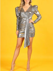 Casie Silver Dress