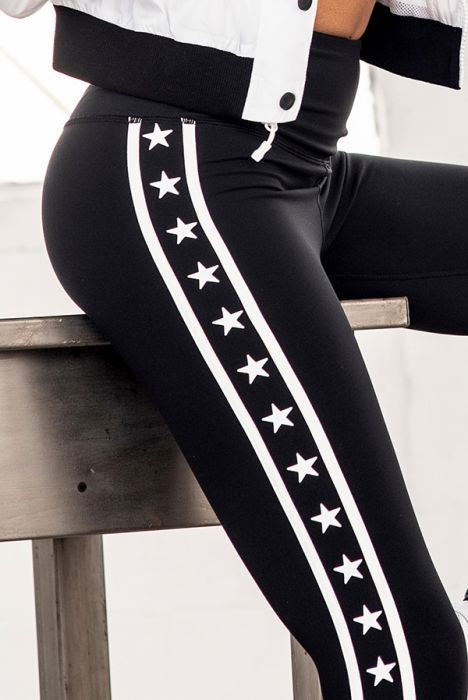 Highwaist Stars and Stripes Leggings