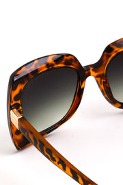 Mocca Bulky Frame Fashion Sunglasses