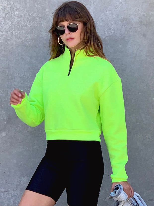 Neon Pullover Sweater