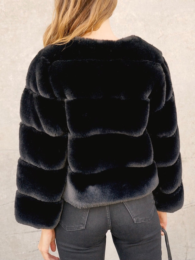 Marilyn Faux Fur Jacket