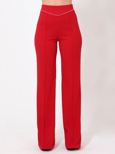 Red Rhinestone Bottoms