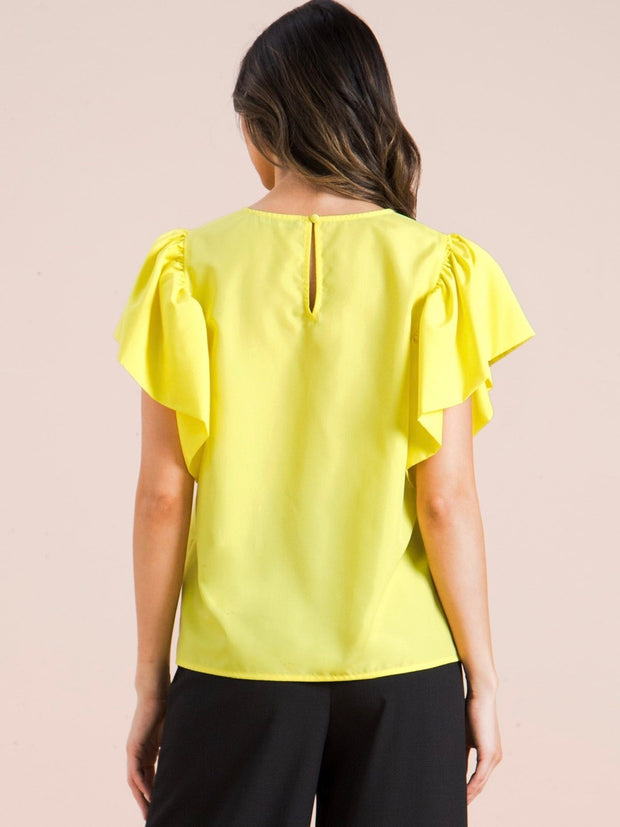 Yellow Grace Top