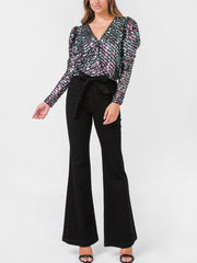 Lucia Sequin Top