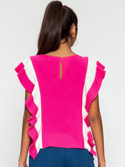 Sandy Hot Pink Top