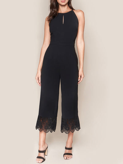 Lace Trim Jumpsuit