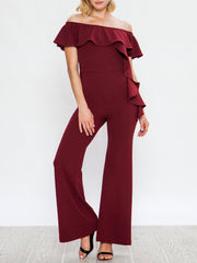 Sofia Wide Leg Jumpsuit