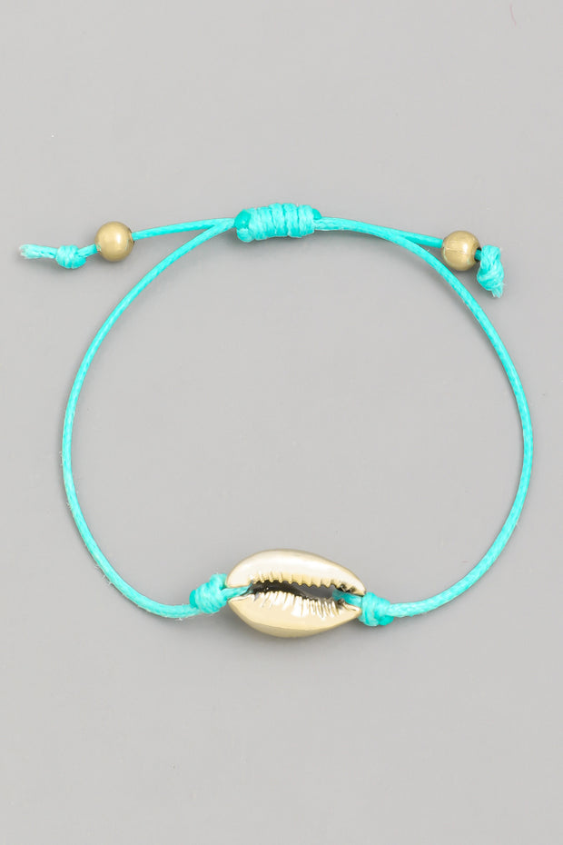 Cowrie Shell Adjustable Bracelet