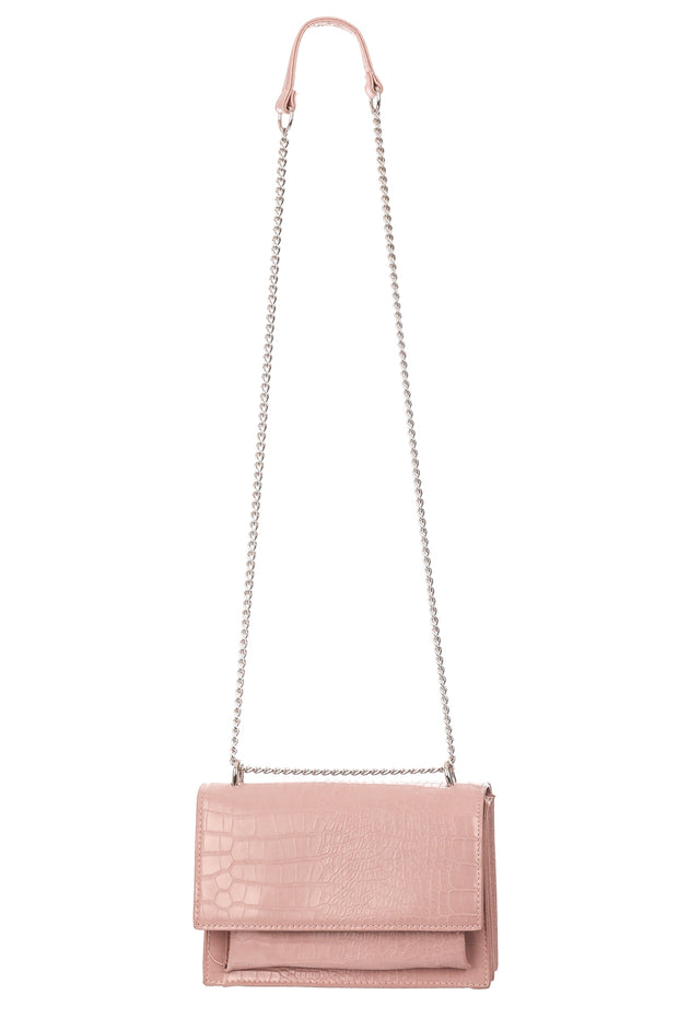 Rectangle Crossbody Chain Bag