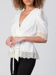 Breana Peplum Top