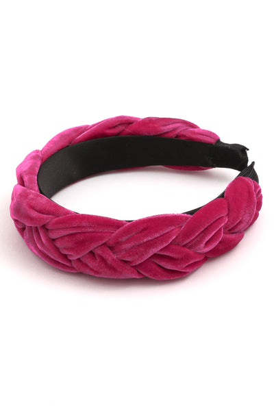 Braided Fabric Headband