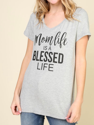 Mom Life Is A Blessed Life Top