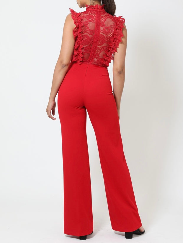 Ashley Crochet Jumpsuit