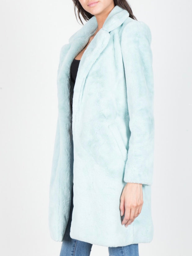 Alexia Plush Trenchcoat