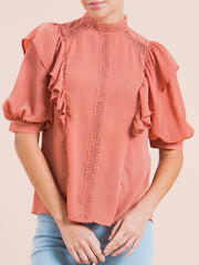 Mauve Mia Top