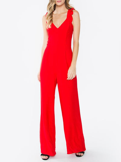 Ariella Ruffle Jumpsuit Color