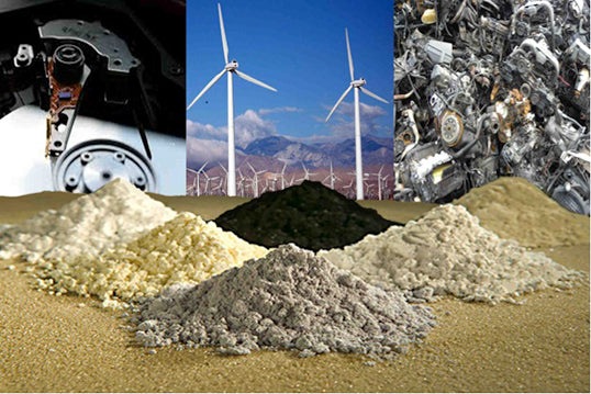 Chinese Rare Earth Element Trade War