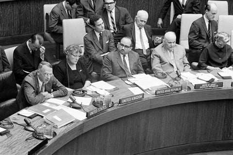Outer Space Treaty Signing
