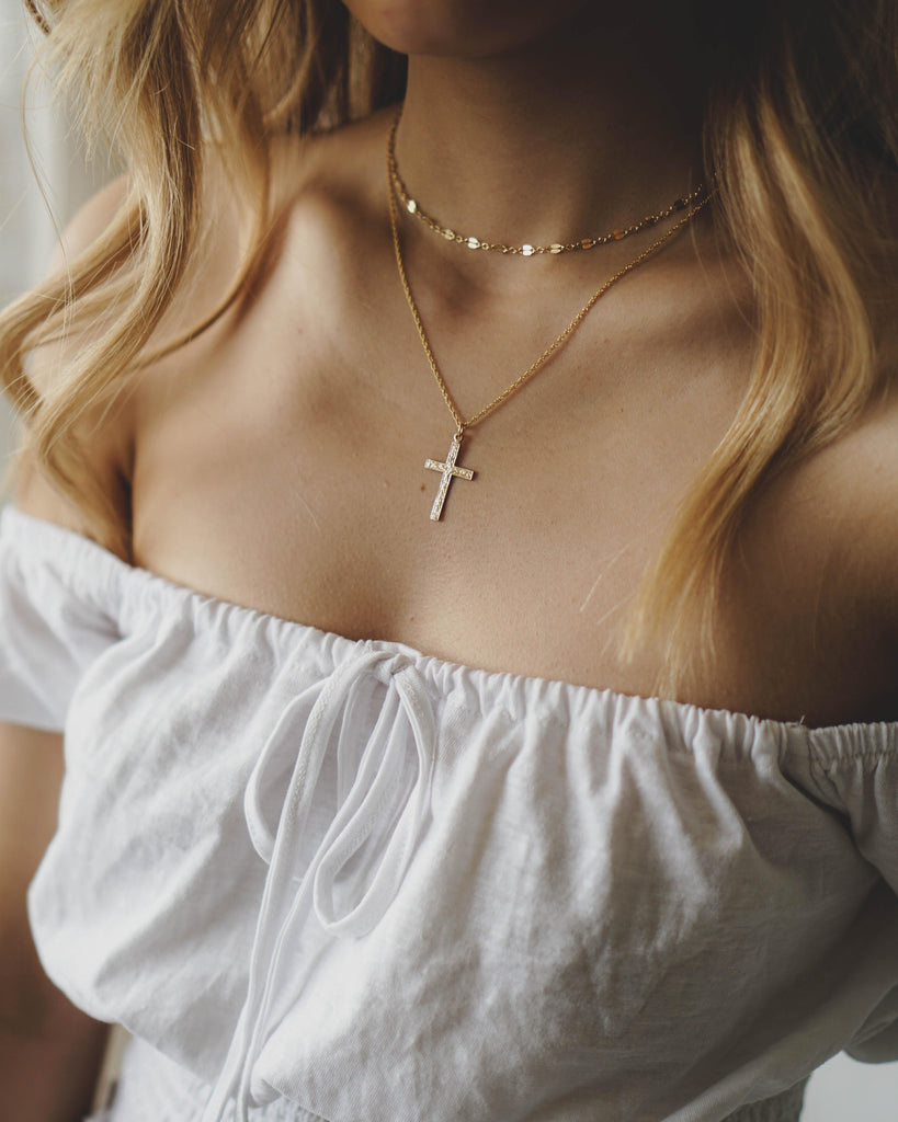 Simple Lace Chain Choker - 14K Gold Filled
