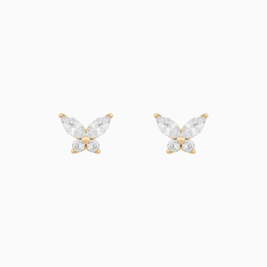 Fly High Butterfly Stud Earrings